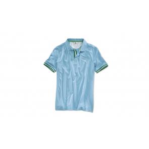 BMW Golfsport Poloshirt Herren uni aqua
