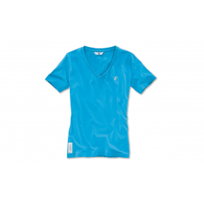 BMW Damen i T-Shirt electric blue