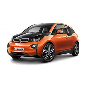 BMW i3 orange Miniatur 1:64