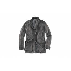 BMW Herren Jacke space grey melange