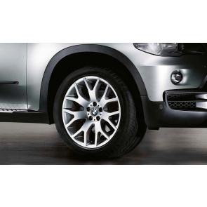 BMW Winterkompletträder Kreuzspeiche 177 silber 19 Zoll X5 E70