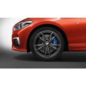 BMW Alufelge M Doppelspeiche 436 orbitgrey 7,5J x 18 ET 45 Vorderachse 1er F20 F21 2er F22 F23