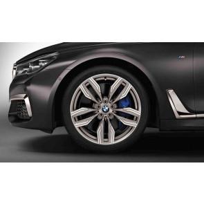 BMW Alufelge M Doppelspeiche 760 ceriumgrey 8,5J x 20 ET 25 Vorderachse 7er G11 G12