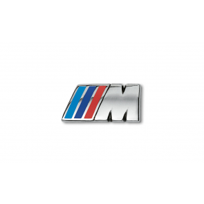 BMW M Pin silber
