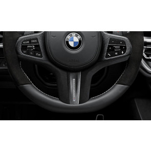 BMW M Performance Lenkrad Abdeckung Leder / Carbon 3er G20 G21 4er G22