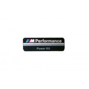 BMW M Performance Alu-Plakette PowerKit