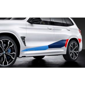 BMW M Performance Folierung Motorsport X3M F97 X4M F98