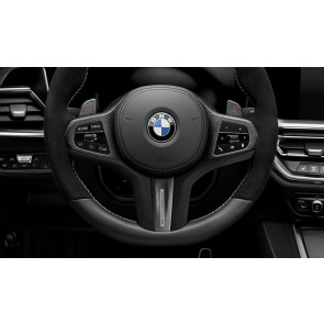 BMW M Performance Lenkrad Abdeckung Leder / Carbon 1er F40 2er F44 3er G20 G21 M3 G80 4er G22 G23 M4 G82 Z4 G29