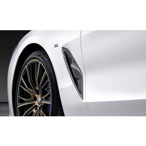 BMW M Performance Zierleiste Lufteinlass Kotflügel Carbon 8er G14 G15 G16