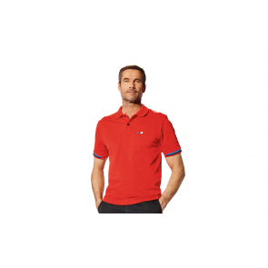 BMW M Herren Poloshirt rot