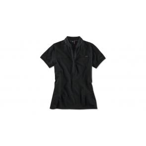 BMW M Damen Poloshirt schwarz