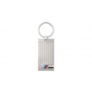 BMW M Schlüsselanhänger Edelstahl silber