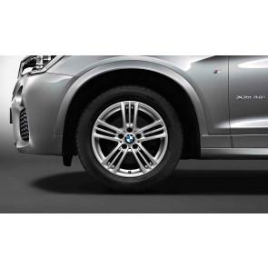 BMW Kompletträder M Sternspeiche 368 silber 18 Zoll X3 F25 X4 F26