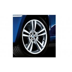 BMW Alufelge M V-Speiche 299 silber 11J x 20 ET 35 Hinterachse X5M E70 X6M E71