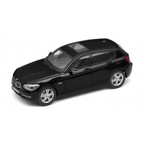 BMW 1er F20 schwarz Miniatur 1:18