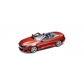 BMW M6 Cabrio F12 M orange Miniatur 1:18