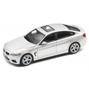 BMW 4er Gran Coupé F36 silber Miniatur 1:43
