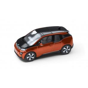 BMW i3 orange Miniatur 1:43