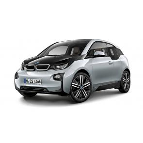 BMW i3 Miniatur ionicsilber 1:43