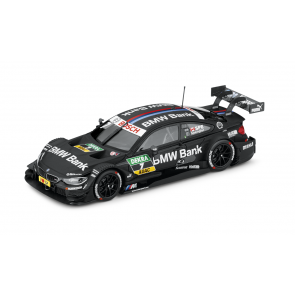 BMW M4 Bruno Spengler DTM 2014 schwarz Miniatur 1:43