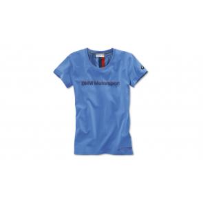 BMW Motorsport Fan T-Shirt Damen blau