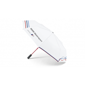 BMW Motorsport Taschenschirm weiß