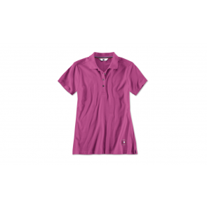 BMW Damen Poloshirt zyclam red