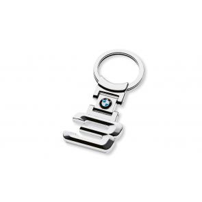 BMW Schlüsselanhänger 3er silber
