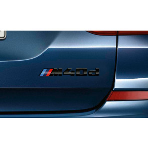 BMW M40d Schriftzug X3 G01