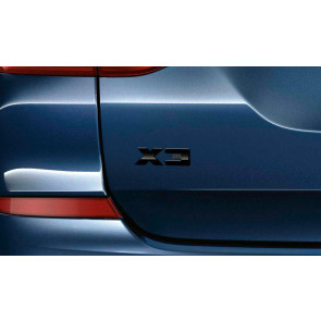 BMW X3 Schriftzug X3 G01