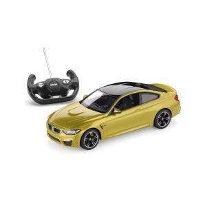 BMW ferngesteuerte Miniatur M4 Coupé RC austin yellow Maßstab 1:14
