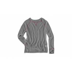 BMW Damen Stricksweater asphalt grey melange