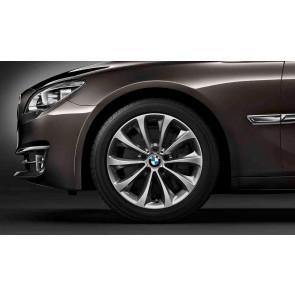BMW Winterkompletträder Turbinenstyling 452 bicolor (ferricgrey / glanzgedreht) 19 Zoll 5er F07 7er F01 F02 F04