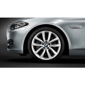 BMW Kompletträder V-Speiche 331 reflexsilber 19 Zoll 5er F11 RDC LC