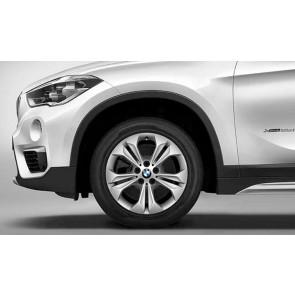 BMW Winterkompletträder Doppelspeiche 564 silber 17 Zoll X1 F48 X2 F39 RDCi