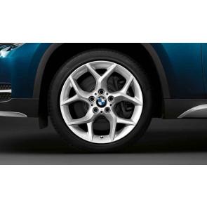 BMW Kompletträder Y-Speiche 322 silber 18 Zoll X1 E84 RDC LC