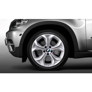 BMW Winterkompletträder Y-Speiche 335 silber 19 Zoll X5 E70