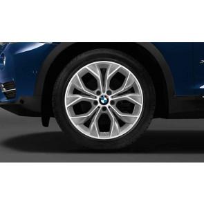 BMW Winterkompletträder Y-Speiche 608 reflexsilber 19 Zoll X3 F25 X4 F26