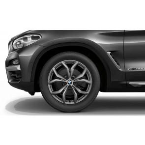 BMW Winterkompletträder Y-Speiche 694 ferricgrey 19 Zoll X3 G01 X4 G02 RDCi