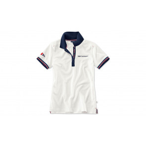 BMW Yachtsport Poloshirt Damen weiß