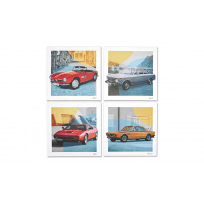 BMW Classic Leinwand Set
