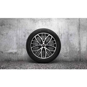 "MINI Kompletträder JCW Cross Spoke 506 bicolor (schwarz / glanzgedreht) 18 Zoll F55 F56 F57 RDCi (nur 17"" Sportbremse)"