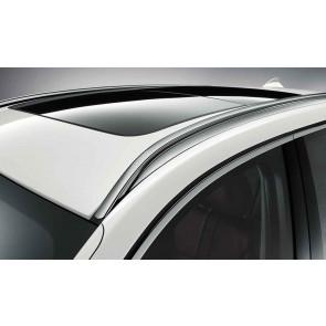 BMW Dachreling Aluminium satiniert X4 F26