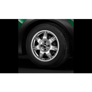 MINI Alufelge Delta Spoke 96 5,5J x 15 ET 45 Silber Vorderachse / Hinterachse MINI R50 R52 R55 R56 R57 R58 R59