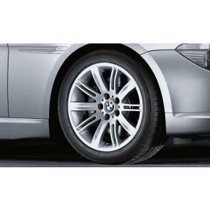 BMW Alufelge Doppelspeiche 120 8J x 18 ET 14 Silber Vorderachse BMW 6er E63 E64