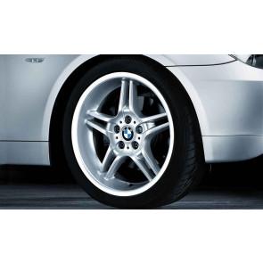 BMW Alufelge Doppelspeiche 125 silber 8,5J x 19 ET 18 Vorderachse 5er E60 E61