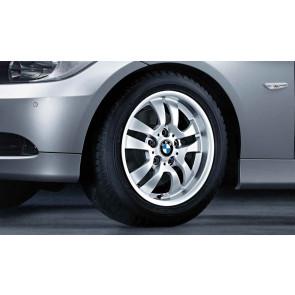 BMW Alufelge Doppelspeiche 154 silber 7J x 16 ET 34 Vorderachse / Hinterachse 3er E90 E91