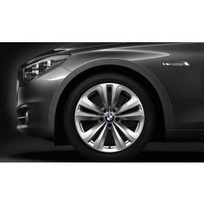 BMW Alufelge Doppelspeiche 234 8J x 18 ET 30 Silber Vorderachse / Hinterachse BMW 5er F07 6er F06 F12 F13 7er F01 F02 F04