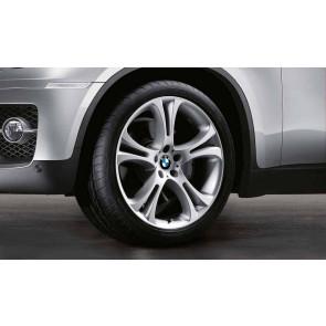 BMW Alufelge Doppelspeiche 275 silber 10J x 21 ET 40 Vorderachse X5 E70 X6 E71 E72