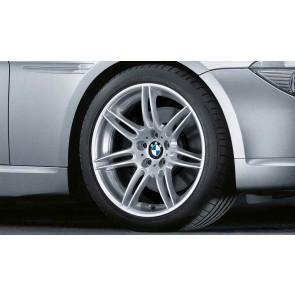 BMW Alufelge Doppelspeiche 288 9J x 19 ET 14 Silber Hinterachse BMW 6er E63 E64